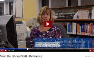 Meet the Library Staff - Reference - video screenshot